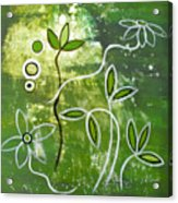 Green Growth Acrylic Print