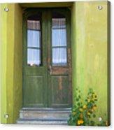 Green House Acrylic Print by Gabriela Insuratelu
