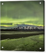 Green Ice Acrylic Print