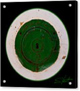 Green Image Acrylic Print