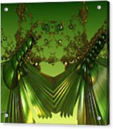 Green Insects  Acrylic Print