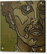 Green Inside Acrylic Print