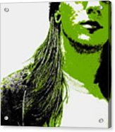 Green Is In Acrylic Print