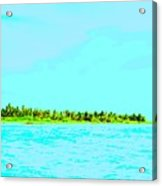 Green Island Acrylic Print