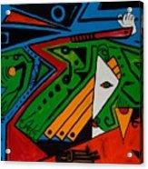 Green Jag 36x48 Acrylic Print
