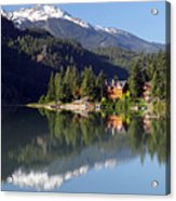 Green Lake Whistler  Acrylic Print
