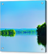 Green Lane Reservoir Acrylic Print