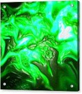 Green Lantern Acrylic Print