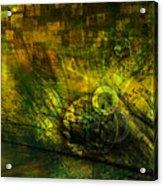 Green Lantern Acrylic Print by Monroe Snook