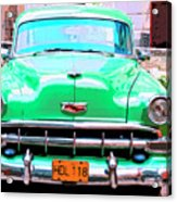 Green Machine Acrylic Print
