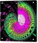 Green-magic-wheel Acrylic Print