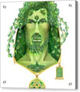 Ivy Green Man Acrylic Print