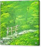 Green Meadows Acrylic Print