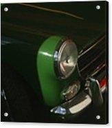 Green Mg Acrylic Print