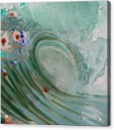 Green Mist Acrylic Print by Mateo Antonell