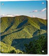 Green Mountainside Acrylic Print