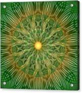 Green No2 Acrylic Print