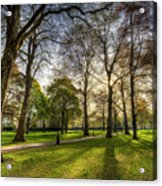 Green Park London Acrylic Print