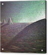 Green Pyramid B Acrylic Print