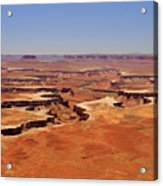 Green River Overlook Acrylic Print by Phil Stone