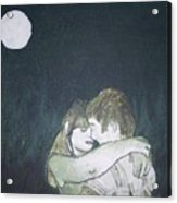 Green Romance Acrylic Print