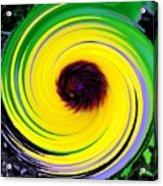 Green Rush Acrylic Print