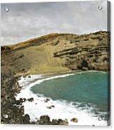 Green Sand Beach On The Big Island Hawaii Acrylic Print