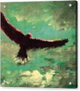 Green Sky Acrylic Print