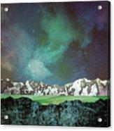 Green Space Acrylic Print