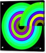 Green Targets Acrylic Print