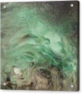 Green Texture Acrylic Print