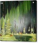 Green Trees Acrylic Print
