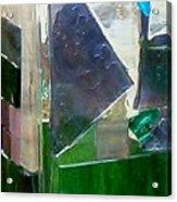 Green Vase Acrylic Print by Jamie Frier