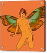 Green Wings Acrylic Print
