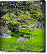 Green Winter Acrylic Print