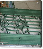 green with envy Jerusalem Acrylic Print