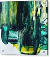 Greenish Acrylic Print