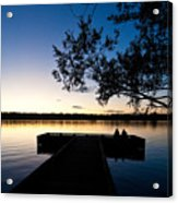 Greenlake Sunset Acrylic Print
