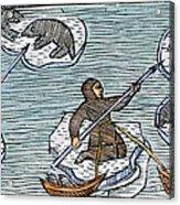 Greenland Eskimos, 1555 Acrylic Print