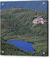 Greenleaf Hut - White Mountains New Hampshire  Acrylic Print by Erin Paul Donovan