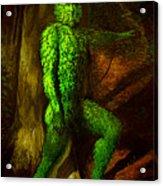 Greenman Acrylic Print
