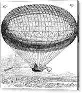 Greens Balloon, 1857 Acrylic Print