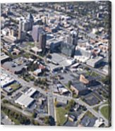 Greensboro Aerial Acrylic Print
