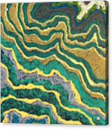 Greenscape C Acrylic Print