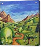 The Journey Acrylic Print