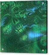Greenskull Acrylic Print