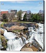 Greenville Panorama Acrylic Print
