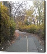 Greenway Trail In The Fall Acrylic Print