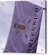 Greenwich Flag Acrylic Print