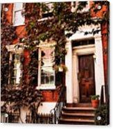 Greenwich Village Charm Acrylic Print